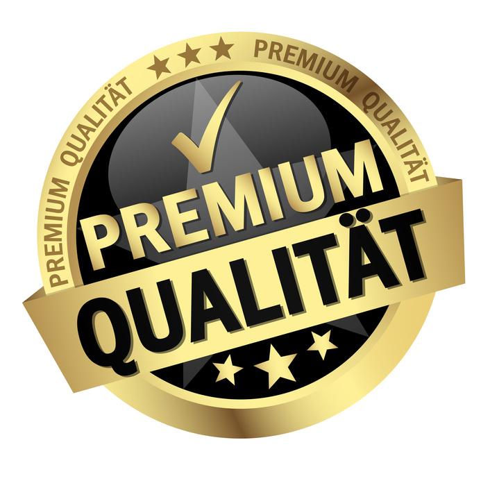 button with text Premium Qualitt